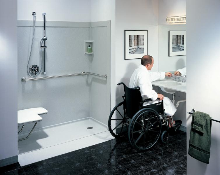 Ada accessibility ace plumbing inc for Bathroom design ideas for elderly